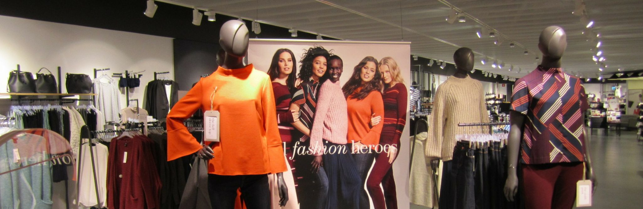 Your store's employees might have hidden talents for styling merchandise! Unlock their potential with flexible lighting and product display solutions from Tego.