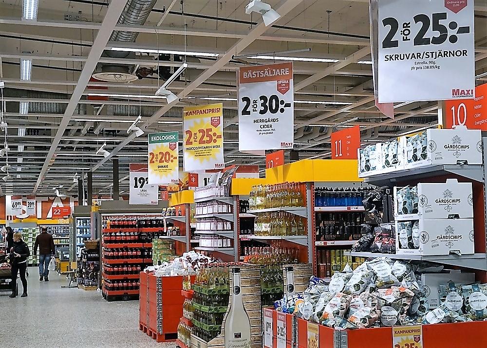Ovanligt tydlig butikslayout - en fräsch look!