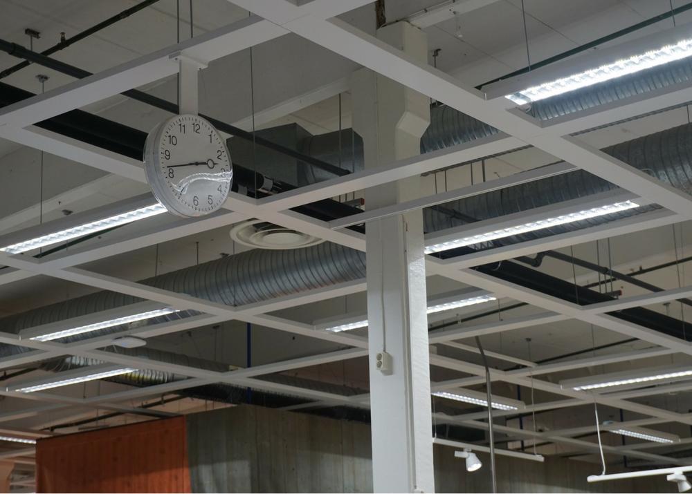 Tego undertak (plafond suspendu) för dagligvaruhandel och köpcentrum - alltid rätt i tiden!