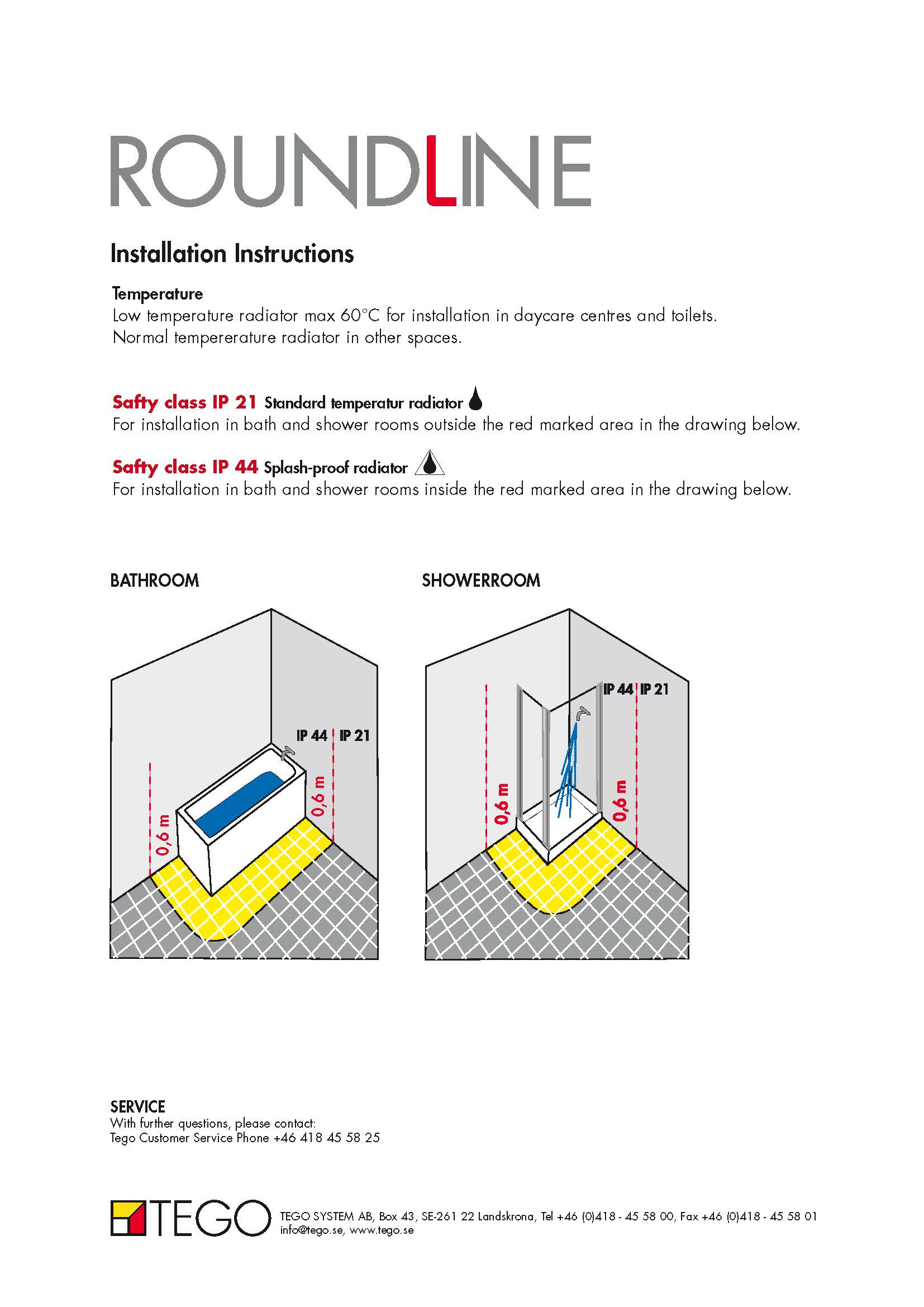Roundline Manuals Brochures Mm 2 58t Wiring Diagram For Thermostat Mounting Instructions