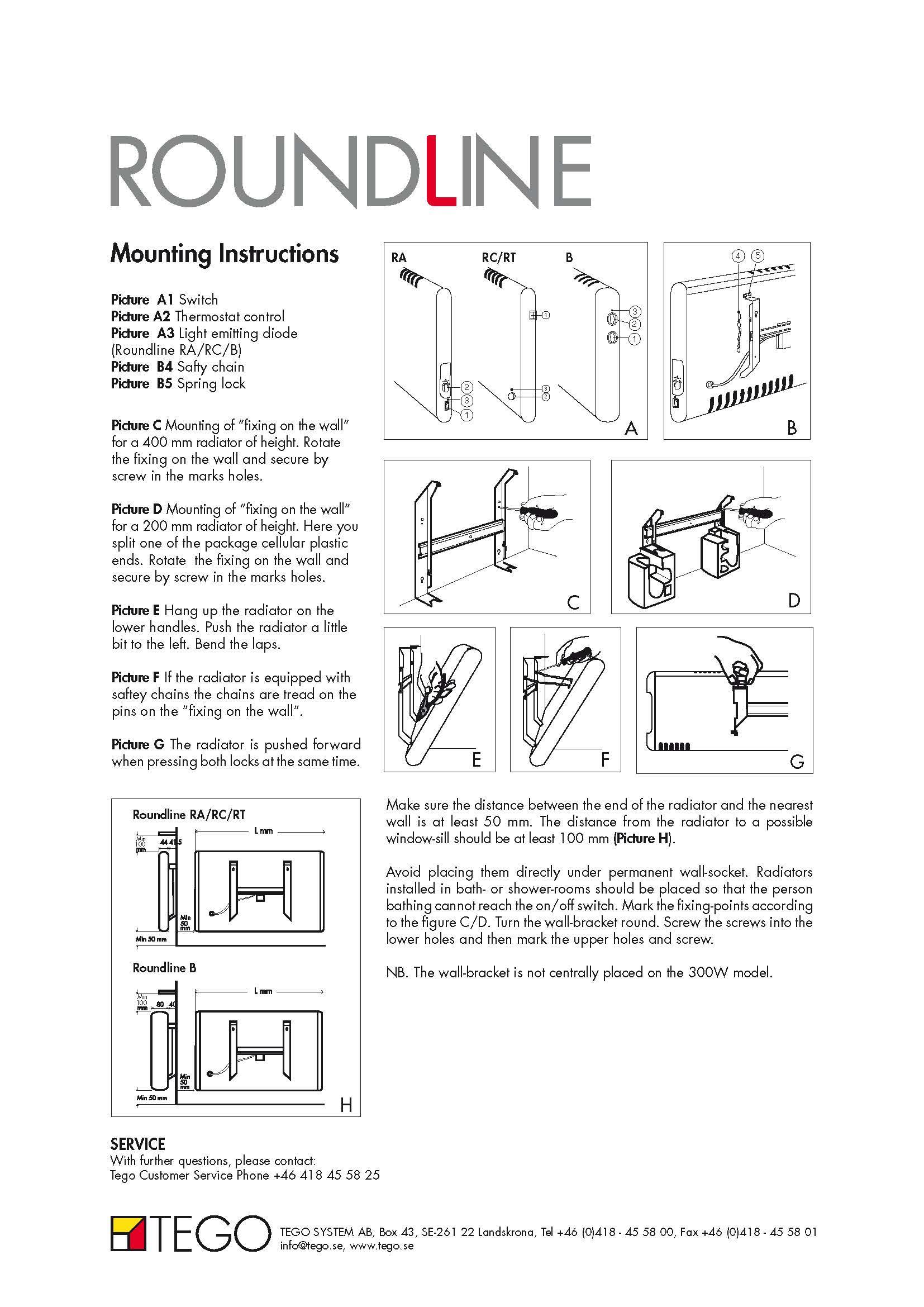 roundline manuals brochures tego se rh tego se