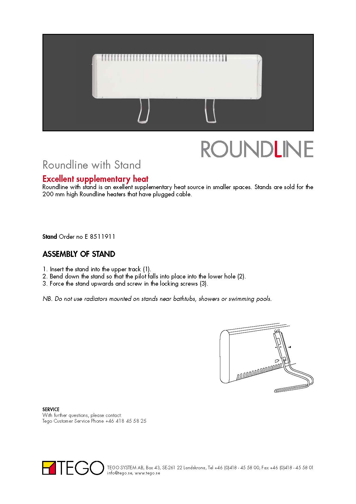 Roundline Manuals Brochures Mm 2 58t Wiring Diagram For Thermostat Slave Radiator
