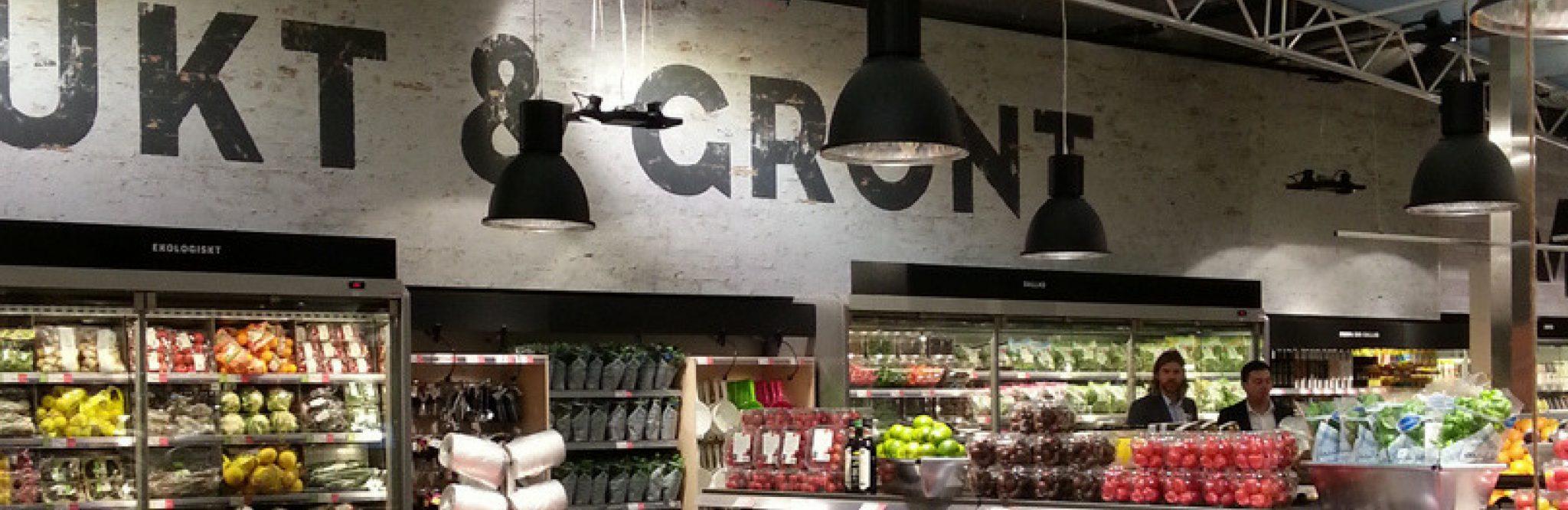 Bra och tydlig skyltning underlättar både för butikspersonal och kunder.