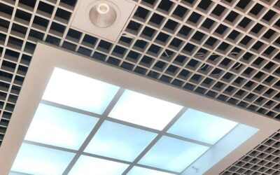 Skylights i Burlöv Center